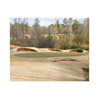 Golf Course Fairway Gallery Wrapped Canvas