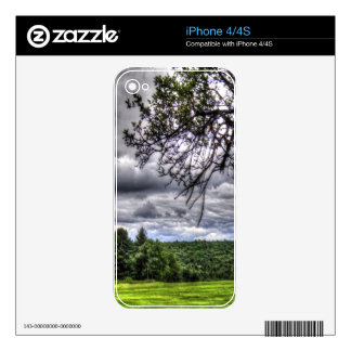 Golf Course Forest iPhone 4S Skins