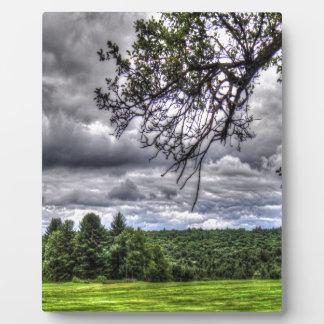 Golf Course Forest Plaque