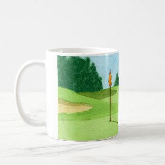 Golf Course Green Mug