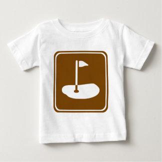 Golf Course Highway Sign T Shirt