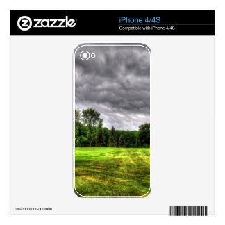 Golf Course Image Decal For The iPhone 4S