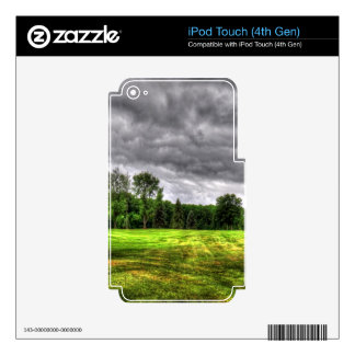 Golf Course Image iPod Touch 4G Decal