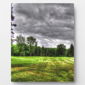 Golf Course Image Plaque