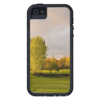 Golf Course in Autumn iPhone 5 Cover