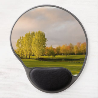 Golf Course in Autumn Gel Mouse Mats