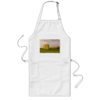 Golf Course in Autumn Long Apron