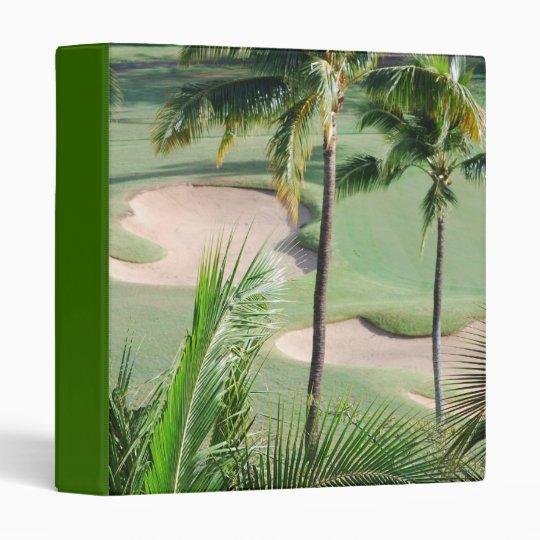 Golf Course in Tropics Binder