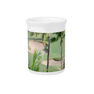 Golf Course in Tropics Pitcher