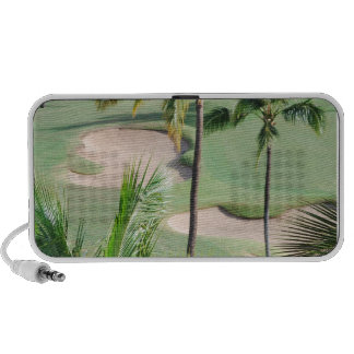 Golf Course in Tropics Portable Speakers