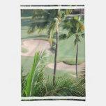 Golf Course in Tropics Towel