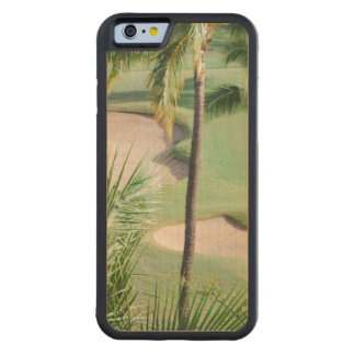Golf Course in Tropics Carved® Maple iPhone 6 Bumper Case