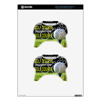GOLF COURSE.jpg Xbox 360 Controller Skin