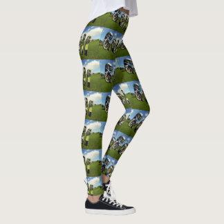 Golf Course Logo Ladies Full Print Leggings