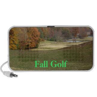Golf course mini speakers