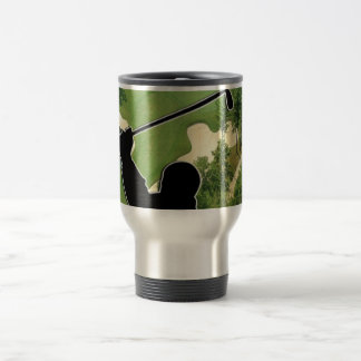 Golf Course 15 Oz Stainless Steel Travel Mug