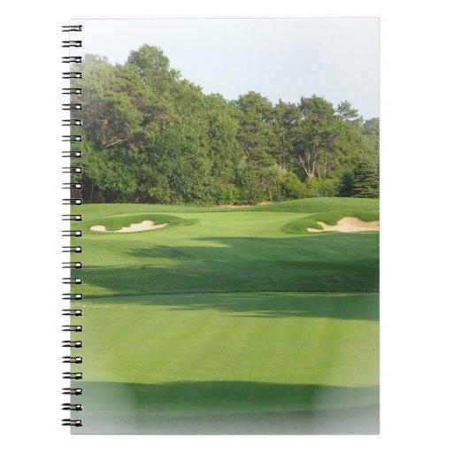 Golf Course Notebook