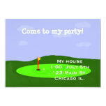 Golf Course Party Invitation