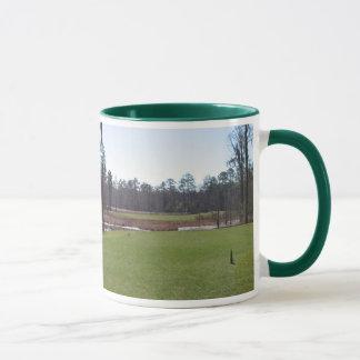 Golf course photo mug. mug