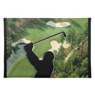 Golf Course Place Mat