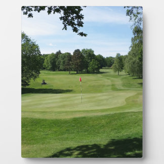 Golf Course Plaque