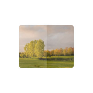 Golf Course Pocket Moleskine Notebook Cover With Notebook