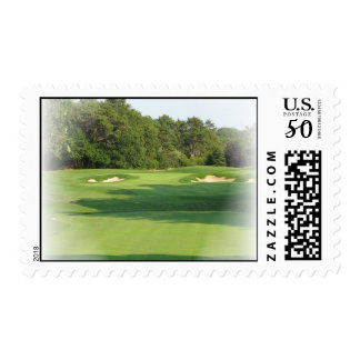 Golf Course Postage Stamp
