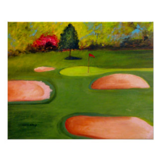 Golf Course-Poster Poster