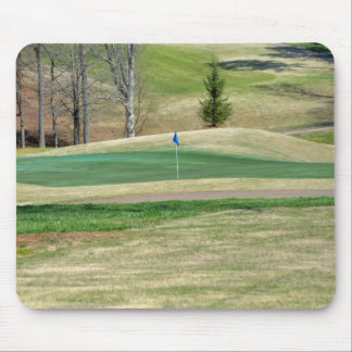 Golf Course Putting Green Mouse Pad