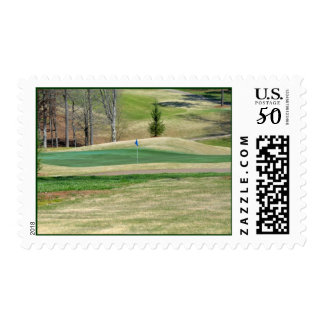 Golf Course Putting Green Postage