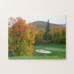 "Golf Course puzzle<br><div class=""desc"">Our beautiful golf course puzzle will not be easy to assemble but what a reward it will be once finished!  Picture for this puzzle was taken at Tremblant Golf at Mont-Tremblant,  Quebec.</div>"