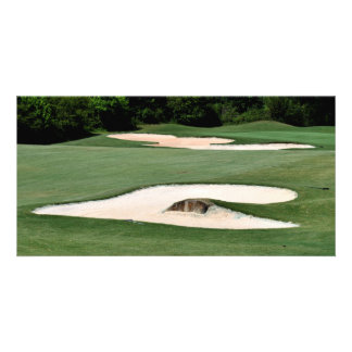Golf Course Sand Traps Card