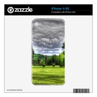 Golf Course Scene Skins For The iPhone 4S