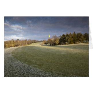 Golf Course Shropshire UK Card