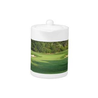 Golf Course Teapot