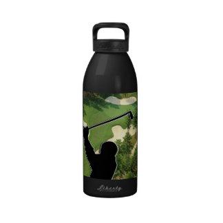 Golf Course Reusable Water Bottle