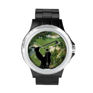Golfers Watches Personalized