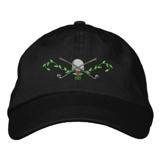 Golf Crest Embroidered Baseball Hat