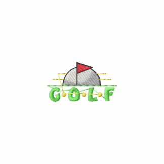 Golf Crest Embroidered Polo Shirt
