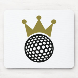 Golf crown mousepad