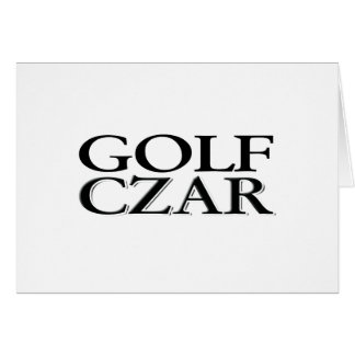 Golf Czar Card