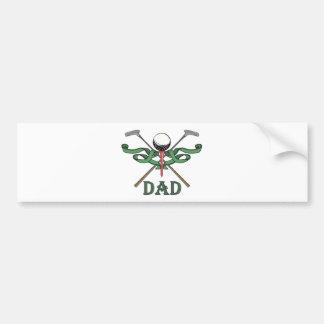 Golf Dad Bumper Sticker