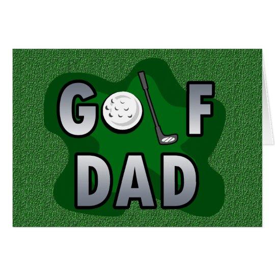 Golf Dad Card