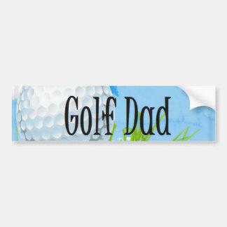 Golf DAD Design Bumper Sticker