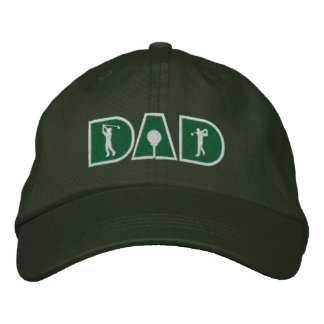 Golf Dad Embroidered Hat