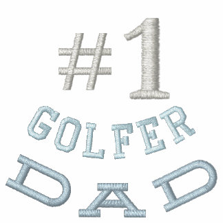 Golf  Dad Embroidered Shirt
