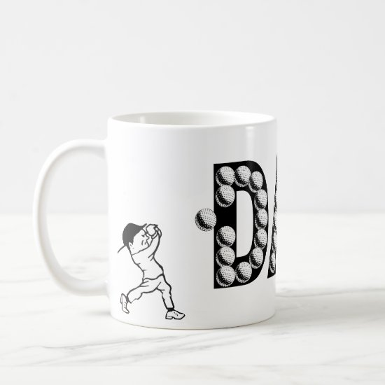 Golf Dad Father's Day Coffee Mug