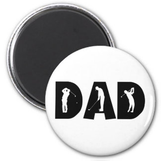 Golf Dad Gift Magnet
