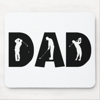 Golf Dad Gift Mouse Pad