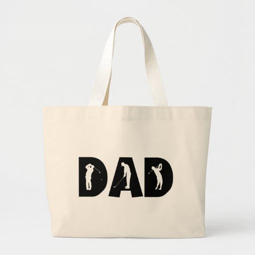 Golf Dad Gift Tote Bag